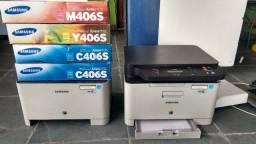 Título do anúncio: Impressoras Samsung CLX-3305W e Xpress C410W