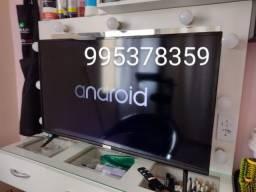 Smart tv 40  Android controle comando de voz