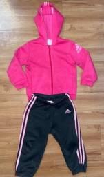 Abrigo Adidas Infantil 12 - 18 Meses