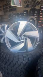 Roda 20 com pneus novos