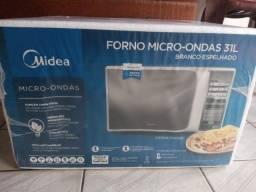 Micro-Ondas Midea 31L Branco - Mtcs41.Mtcs42 R$500,00 Lacrado.