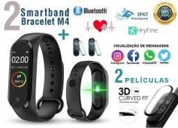 Smartband Original + Película 3d (kit 2 Relógios)