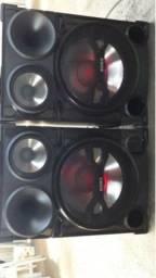 Caixas de som da Sony