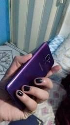 Samsung Galaxy j8 usado trincado
