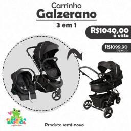 Título do anúncio: Carrinho Galzerano Golden  3 em 1