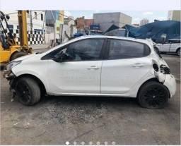 Sucata Peugeot 208 1.6 2017 Retiradas De Peças