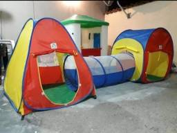 Barraca infantil com tunel e tenda 3 em 1 - Nova na caixa lacrada