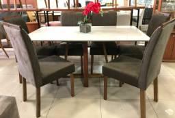 Mesa de jantar +6 cadeiras