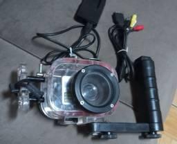 Máquina fotográfica mergulho