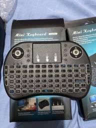 Controle (remoto) mini teclado - PEÇA já! - 3 unidades disponíveis apenas