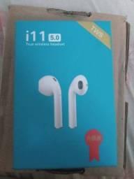 Fones de ouvido i11 novos