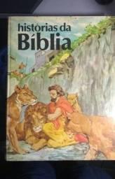 Título do anúncio: Coleção Histórias da Biblia - 4 volumes | Livros ilustrados | Raridade!