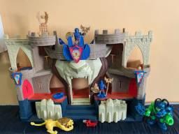 Castelo Medieval Imaginext + A criatura do castelo o ogro