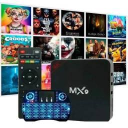 TV BOX + MINI TECLADO (CONFIGURADO)