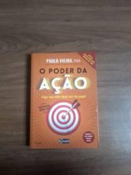 Livro: Paulo Vieira - O Poder da Ação (Usado)