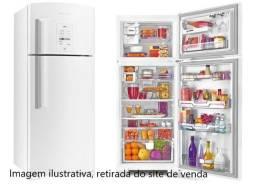 Geladeira / Refrigerador Brastemp Ative! Frost Free 2 Portas - Branca - Usada