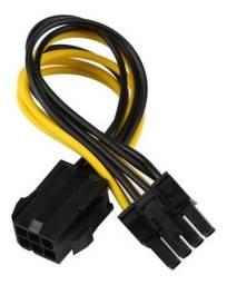 Adaptador Energia De 6 Pinos P 8 Pinos P Video Pci-e X16.