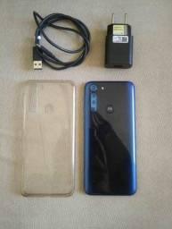 Vendo e Troco Moto One Fusion 128 GB 4 Câmeras Atrás Aceito Cartão