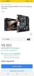 Placa Mãe Gigabyte B360m Aorus Gaming3 Lga 1151 Ddr4