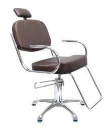 Cadeira Hidráulica Cromada