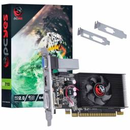 Noobi - Placa de Vídeo Pcyes GT 710 2Gb DDR3 64 Bit - PA710GT6402D3LP