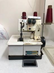 Máquina de costura Interlock Colarete