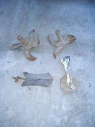 Implementos para motocultivador agricola