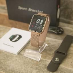 SmartWatch P80 pro Original Acompanha 2 pulseiras