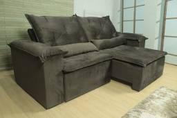 Sofa Retrátil e Reclinável frete Gratis