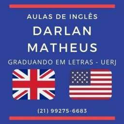 Aulas particulares de inglês para todos os níveis