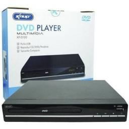 Dvd Player Multimídia Bivolt Cd/dvd/pendrive Ripping Kp-d120