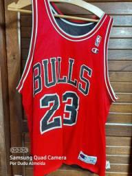 Camisa Bulls Jordan Original Dupla face