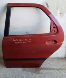 Porta traseira esquerda palio 96.00 vermelha