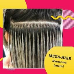 APLICACAO DE MEGA HAIR