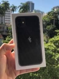 Phone 11 de 64gb - preto (Lacrado)