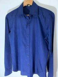 Título do anúncio: Camisa masculina Italiana Slim