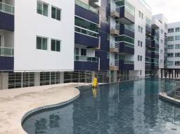 Excelente Apartamento Novo Pé na Areia no Bessa para Aluguel