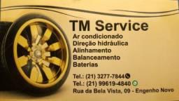 Oficina especializada em mecânica geral e ar condicionado.
