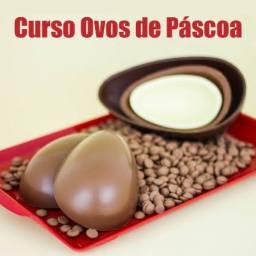 Curso online artesanal de ovo de Páscoa