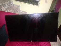 Tv swart 43 AOC com a tela queimada