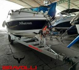 Carretinha AM BRAVOLLI ' Reboque Jet Ski, lanchas e embarcações
