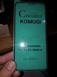 Película de Cerâmica Iphone XR e 11