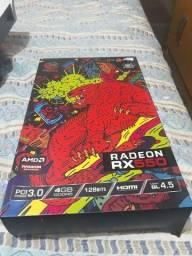 Placa de vídeo Radeon rx550 4gb