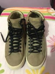 Sapato Osklen soho cano médio 42
