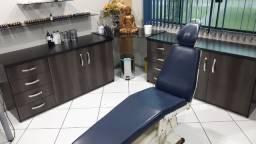 Cadeira odontológica tattoo e Balcões MDF