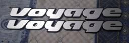 Emblema voyage 91 a 95 original volkswagen sport cl gl