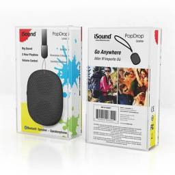 Caixa De Som Isound Popdrop Bluetooth - Preto