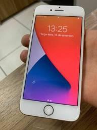 Título do anúncio: iPhone 8 NOVO ROSE 64gb TODOS OS ACESSÓRIOS