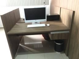 Mesa de Trabalho com 01 Gaveta