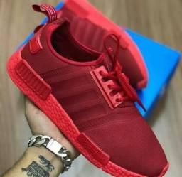 50676b6e38 Adidas nmd vermelho   TAM 42